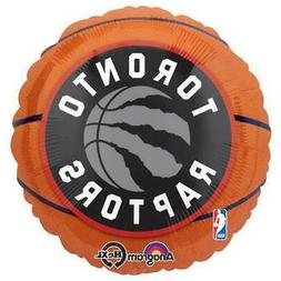 "18"" NBA Toronto Raptors Basketball Foil Mylar Balloon by Ana"