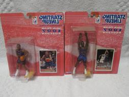 2 NBA Starting Lineup Figurines - Toronto RAPTORS -#21 Camby