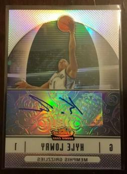 2006 07 topps finest refractor kyle lowry