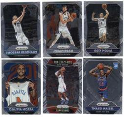 2015-16 Panini Prizm Basketball - Base Set & SP Cards - Choo