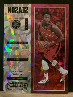 2017-18 Contenders Basketball Kyle Lowry Cracked Ice 20/25 T