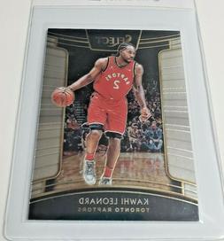 2018-19 Select #93 Kawhi Leonard Base Card Toronto Raptors!