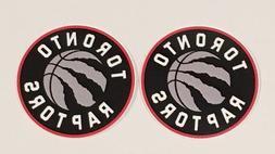 2x Toronto Raptors Car Bumper Laptop Wall Vinyl Die Cut Stic