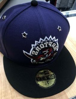 New Era 59FIFTY ASG Toronto Raptors Cap Hat Size 7 1/2 Purpl