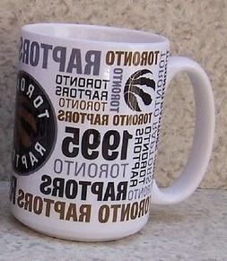 Coffee Mug Sports NBA Toronto Raptors NEW 15 ounce cup with
