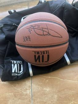 Jeremy Lin LIMITED EDITION Basketball + Duffel Bag