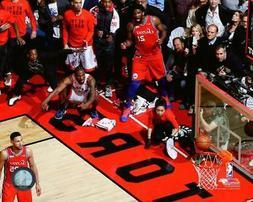 Kawhi Leonard Toronto Raptors 2019 NBA Playoff Action Photo