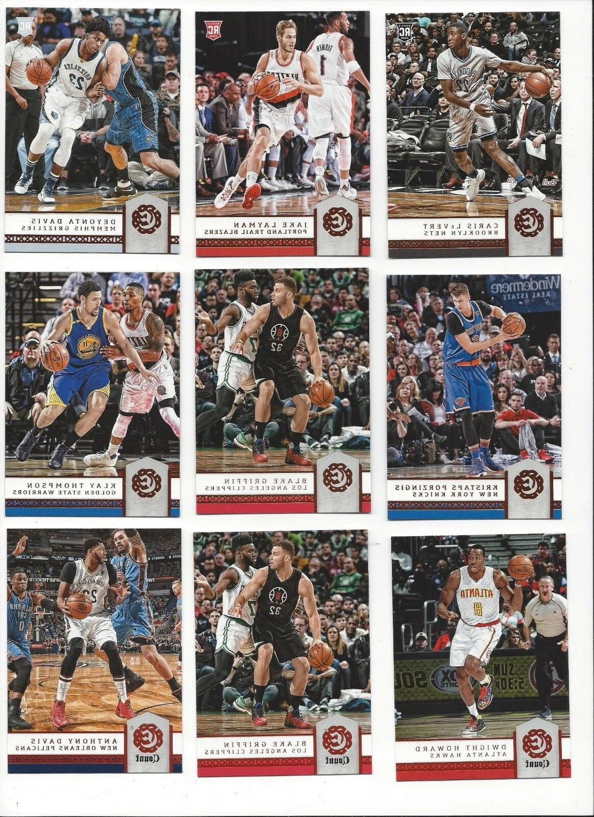 2016 17 panini excalibur base or count