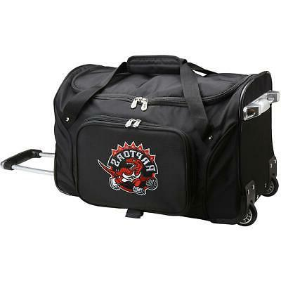 denco toronto raptors 22 2 wheeled carry