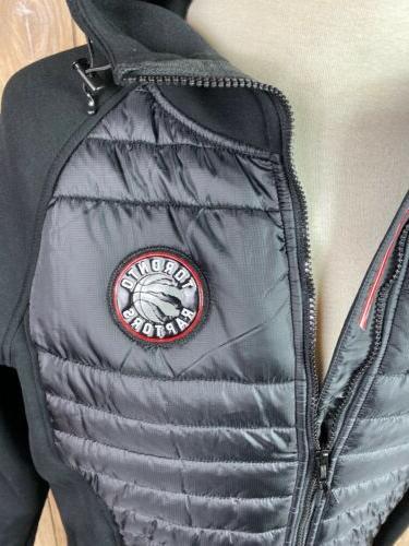 Levelwear Black Toronto Hooded Zip Winter Coat Size