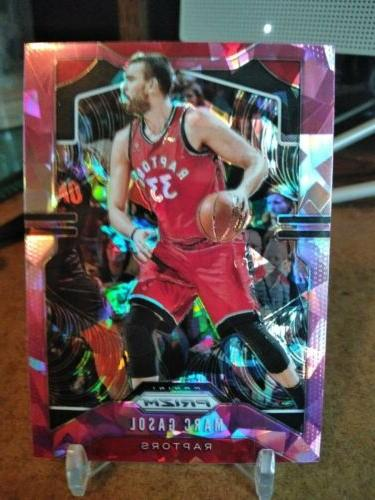 Marc Gasol 2019-20 pink cracked
