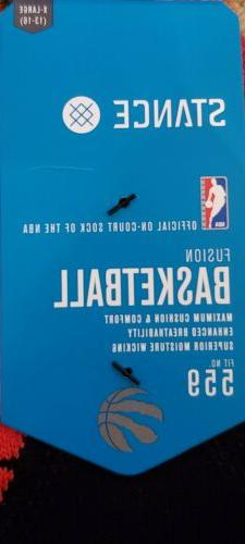 STANCE NBA LOGO BASKETBALL SZ: XL