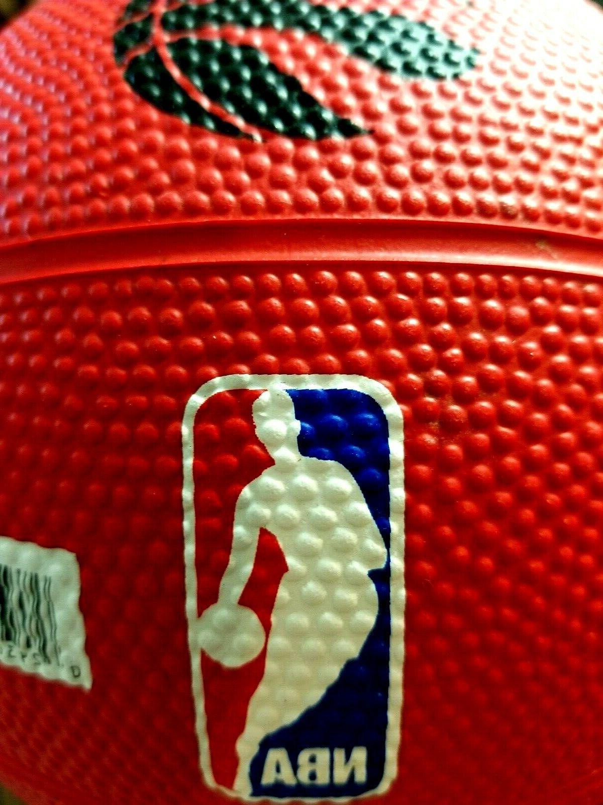 NBA spalding mini rubber