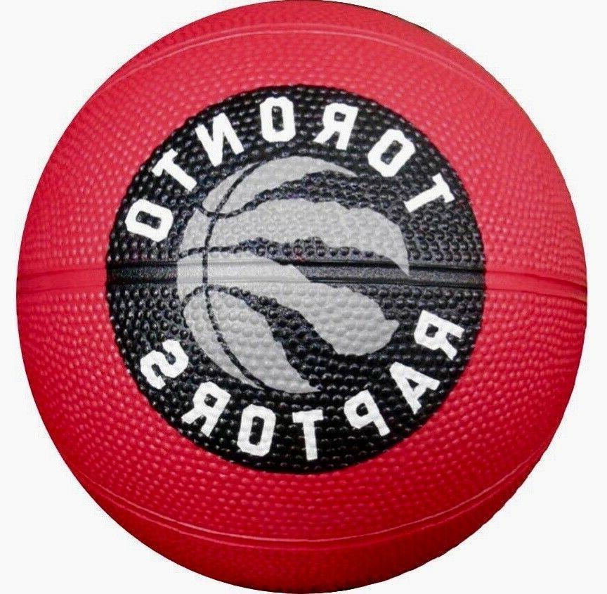 nba toronto raptors mini rubber basketball red