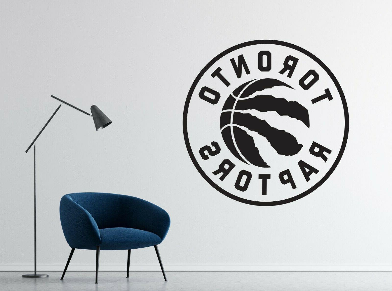 nba toronto raptors wall decal vinyl basketball