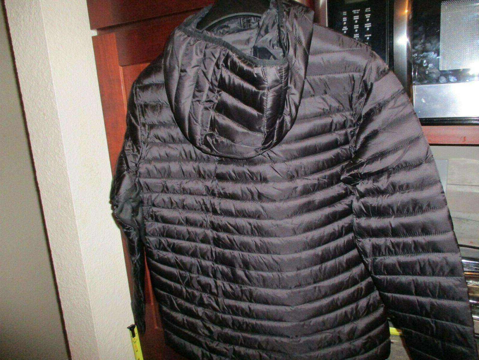 NWT NEW NBA Boys 16/18 Puffer Jacket Coat Black
