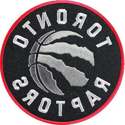 official toronto raptors logo large sticker iron