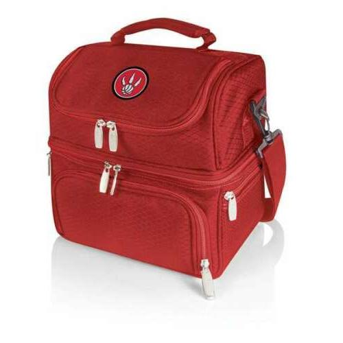 pranzo personal cooler lunch box tote red