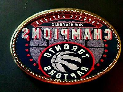 toronto raptors 2019 commemorative nba championship buckle