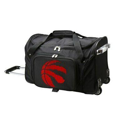 toronto raptors 22 2 wheeled duffel bag