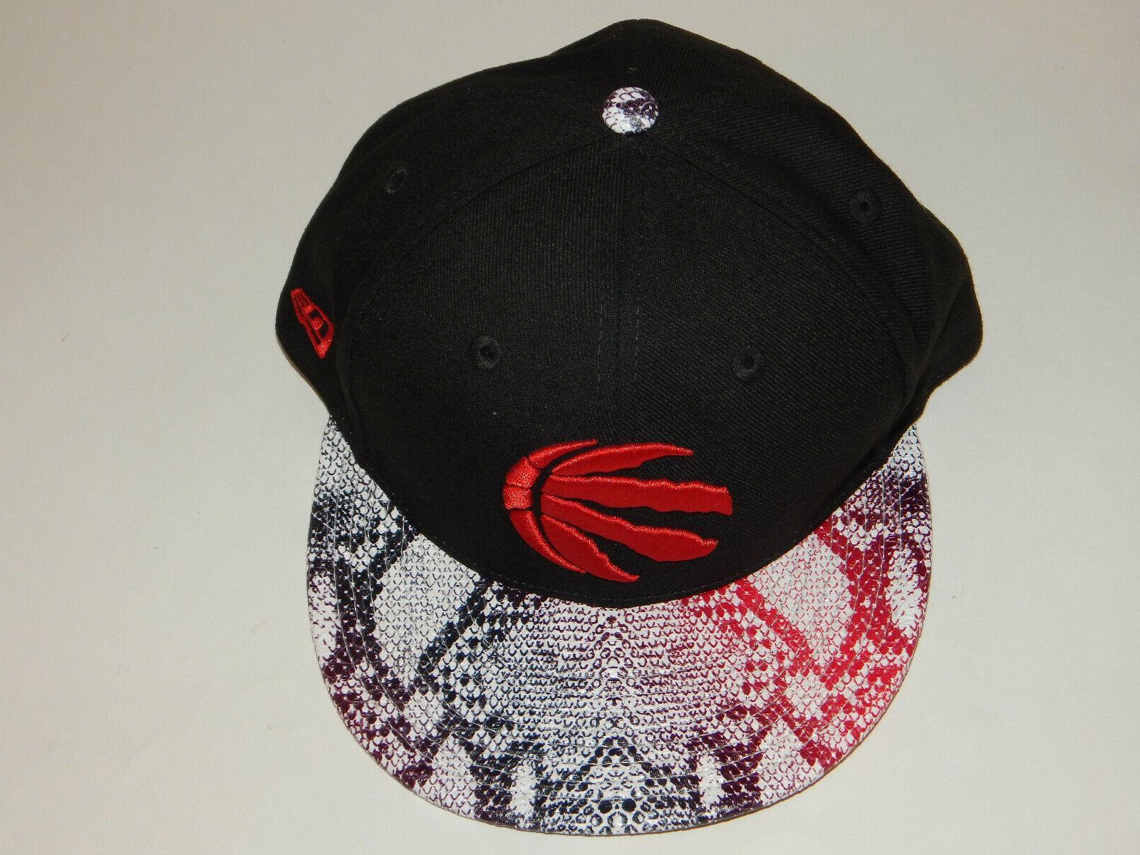 New Era Toronto 9Fifty Hat / Cap Flatbill Skin Bill NBA