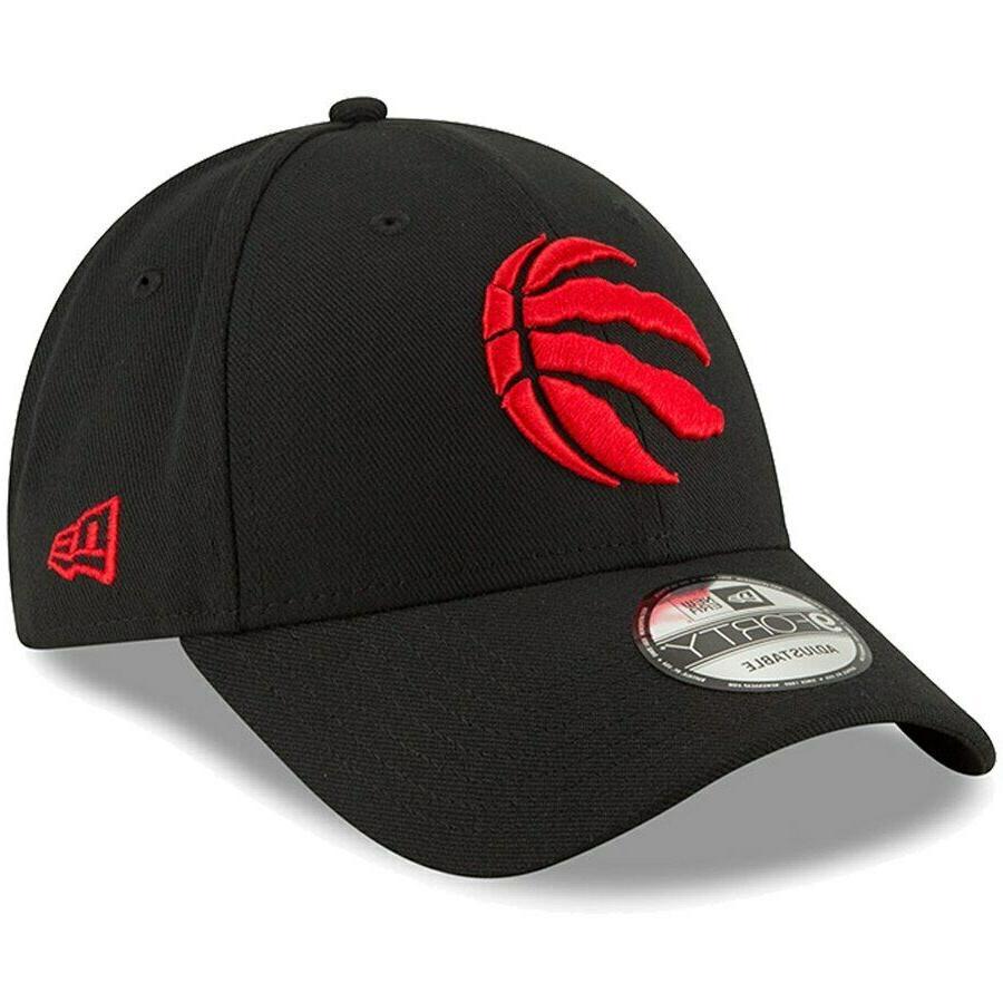 toronto raptors 9forty nba adjustable strapback hat