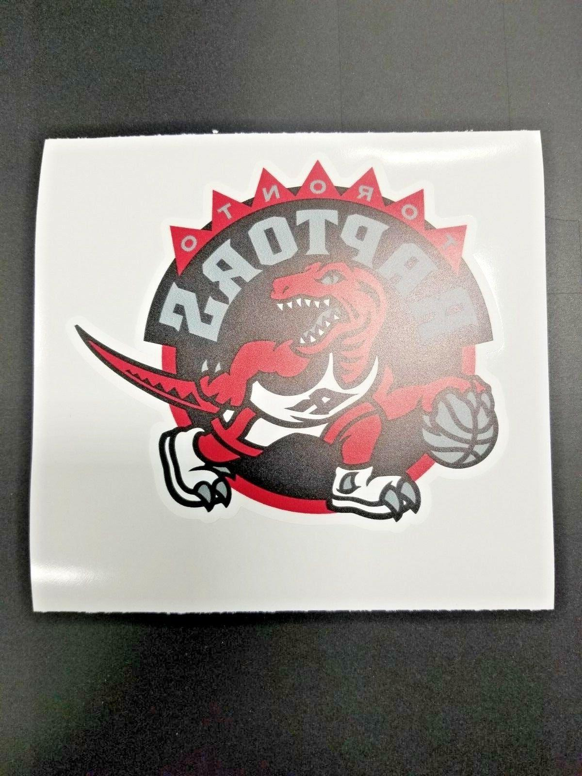 toronto raptors cornhole board decal nba logo