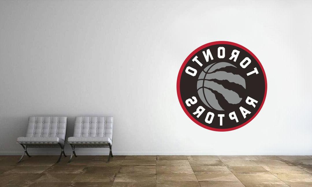 toronto raptors logo wall decal nba basketball
