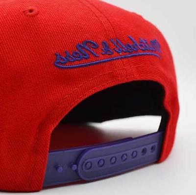 Toronto Raptors NBA Vintage Logo & Ness - Red/Purple