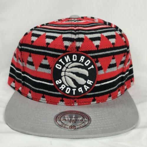 Toronto Raptors Mitchell Ness Mixtec Snapback Cap / Hat -