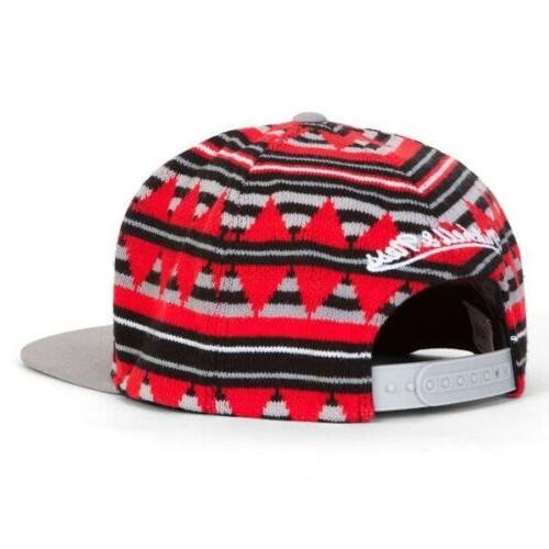 Toronto NBA Mitchell & Ness Snapback Hat - Flat Brim