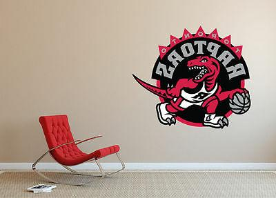 toronto raptors nba bedroom poster wall decal