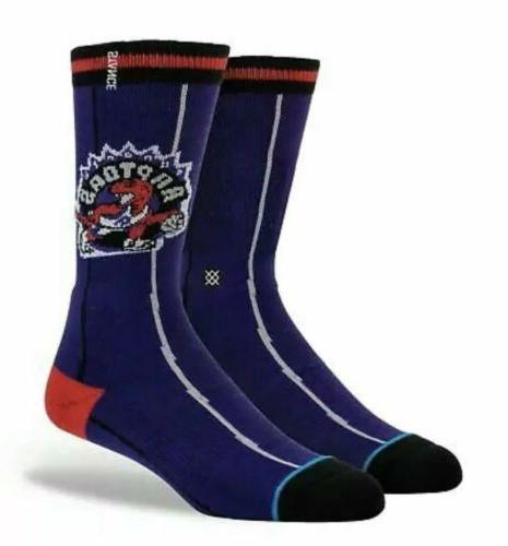 toronto raptors nba socks mens x large