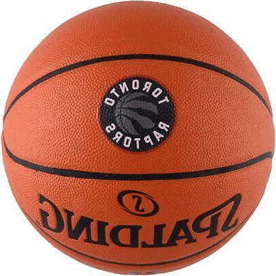 toronto raptors spalding official size logo basketball
