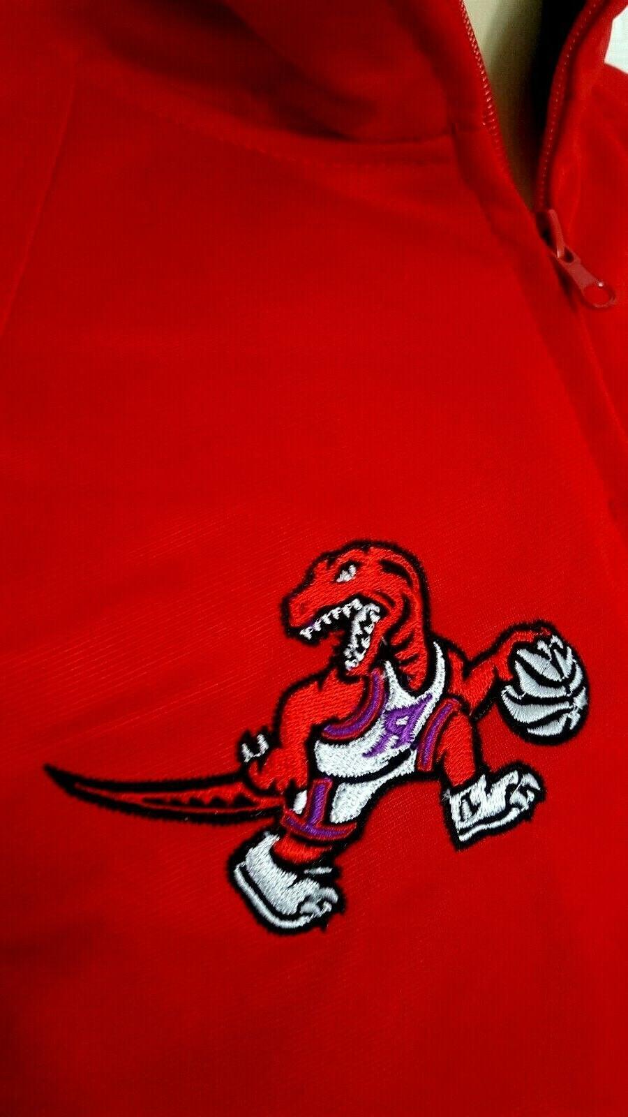 Toronto Raptors Jacket Size Track Style Coat Embroidered Logos New