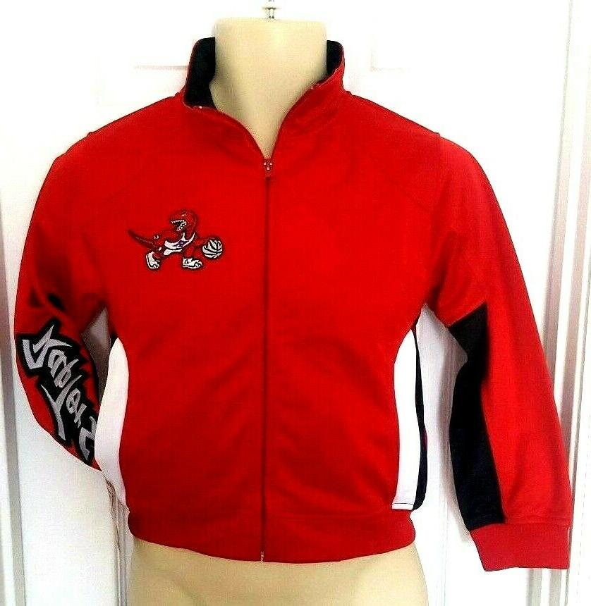 toronto raptors youth jacket size small track