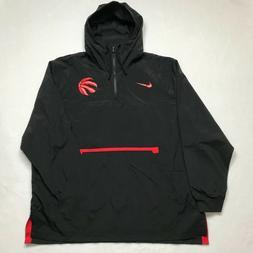 Nike Men's NBA Toronto Raptors Jacket Hoodie Windbreaker L