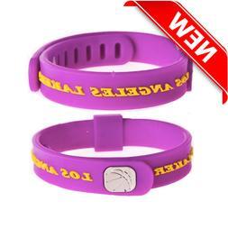 NBA Basketball Club Teams Adjustable Wristband Bracelet Sili