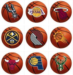 NBA Basketball Area Rugs Mat Round Multiple Teams