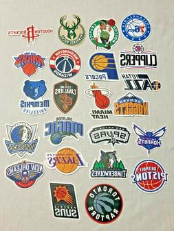 NBA Basketball Team Decal / Sticker Car Decal Luggage Skateb