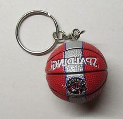 NBA Basketball Toronto RAPTORS Spalding Ball KEY CHAIN Ring