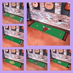 NBA Licensed Golf Putting Green Runner Area Rug Floor Mat Ca
