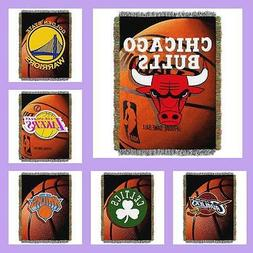NBA Licensed Photo Real Tapestry Afghan Throw Blanket - Choo