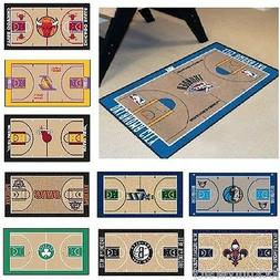 "NBA Teams  - 24"" x 44"" Basketball Court Runner Area Rug Floo"