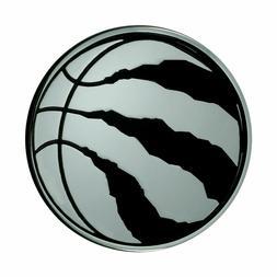 Fanmats NBA Toronto Raptors Diecast 3D Chrome Emblem Car Tru
