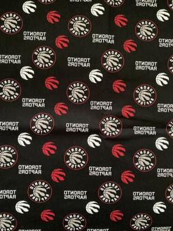 "NBA Toronto Raptors COTTON FABRIC 18"" X 21"" Fat Quarter"