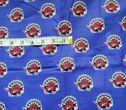 "NBA Toronto Raptors COTTON FABRIC 18""X21"" Fat Quarter -"
