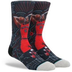 STANCE NBA TORONTO RAPTORS DEMAR DEROZAN SKETCH BOOK SOCKS |