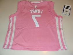 NBA Toronto Raptors Kyle Lowry Pink Little GIrls Infant 2015