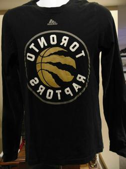 NBA Toronto Raptors Adidas Men/Youth NBA Black Rugby style L